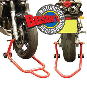 ... Honda CBR600RR Front Rear Track Paddock Stand Set