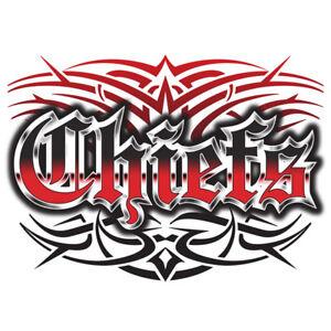 Chiefs tattoo style t shirt kansas city s m l xl 2x 3x ebay for Kansas city tattoo