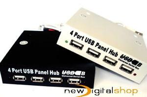 4-PORT-FRONT-PANEL-USB-2-0-HUB-FOR-3-5-DRIVE-BAY-UK