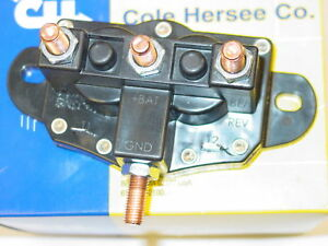 winch motor reversing solenoid relay switch cole hersee 24450. Black Bedroom Furniture Sets. Home Design Ideas