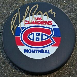 PATRICK-ROY-Signed-MONTREAL-CANADIENS-Puck-w-COA-HOF