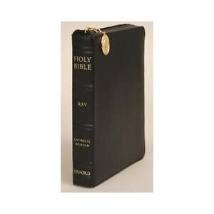NEW Catholic Bible-RSV-Compact Zipper 9780195288537