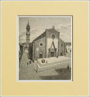 Saluzzo. Duomo - Cuneo - Piemonte. In Passepartout 1894 -  - ebay.it
