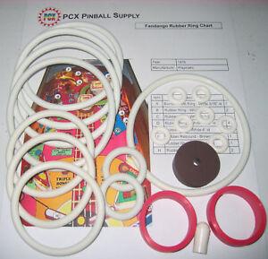Details about 1976 Playmatic Fandango Pinball Machine Rubber Ring Kit