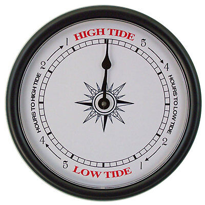 Tide Clock- Compass Rose 233 Nautical Wall Tide Clock