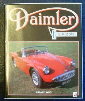 DAIMLER V8 SP250 DART CAR HISTORY MANUAL BOOK