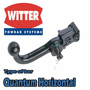 Witter Towbar for Chrysler Grand Voyager 2008 On - Detachable Tow Bar