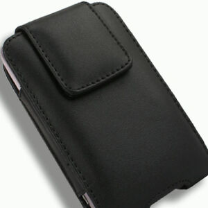 Case for Samsung Fascinate Galaxy S SCH-i500 Pouch Black Clip Verizon