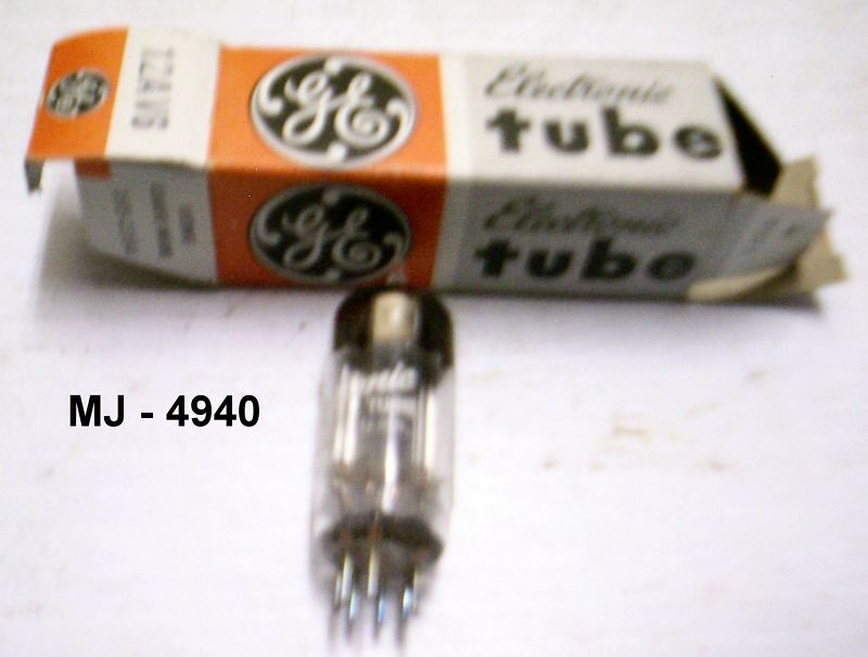 General Electric - 12AV6 Electron Tube (NOS)