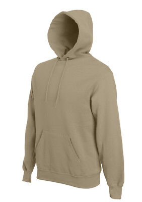 Fruit-of-the-Loom-Mens-Hooded-Sweatshirt-Plain-Hoodie-Blank-Pullover-Hoody
