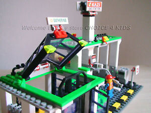 BRAND NEW PETROL GAS STATION BUILDING BLOCKS GIFT DISCOUNT FAVOR BULK STAR TOYS
