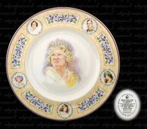 ROYAL DOULTON CLASSICS QUEEN MOTHER LIMITED EDITON PLATE NUMBER 1902
