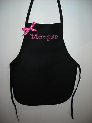 Small Child's Apron Personalized Color Choices