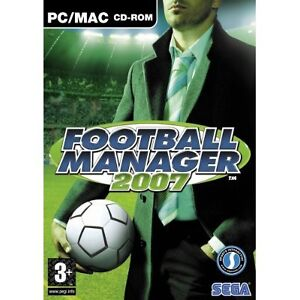 FOOTBALL MANAGER 2007 - Soccer Management Game PC NEW