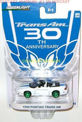 1999 Pontiac Firebird Trans Am 30th Green Machine 2010