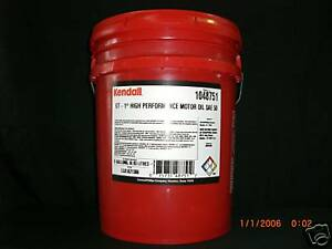 Motor Oil 50 Weight Kendall Ebay