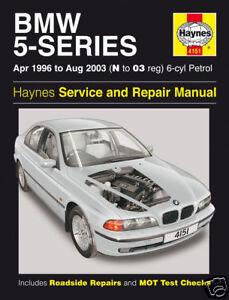 Haynes-BMW-5-Series-520i-523i-525i-528i-530i-1996-2003-Manual-4151-NEW