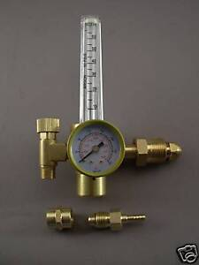 HTP Argon CO2 Mig Tig Flow meter Regulator Welding Weld