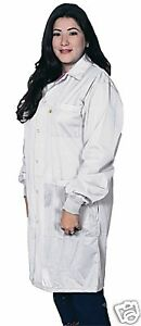 DESCO LAB COAT SMOCK ANTI-STATIC 5XL 73638