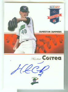 Hector-Correa-SF-Giants-2008-Tristar-Projections-Auto