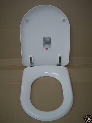 Pressalit WC-Sitz Magnum (Villeroy & Boch) Edelweiß