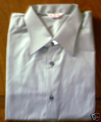 1 Stück Uniform Hemd grau NVA ! Größe: 38 N