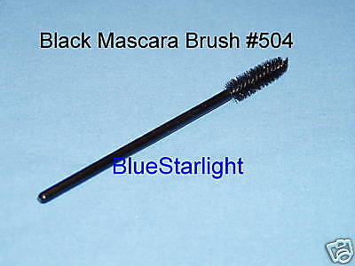 25 Disposable Black Mascara Wand Brush 504-1 Free Ship