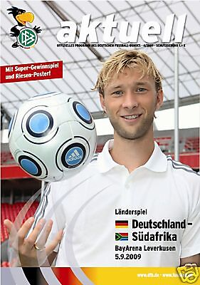 05.09.2009 Dfb-news 4/2009 Germany - South Africa