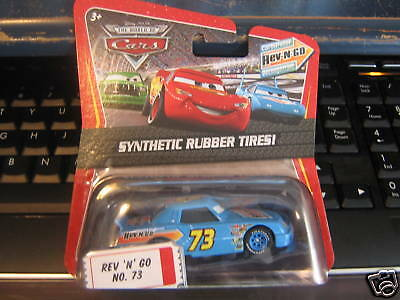 Mattel Disney Pixar Cars REV N GO #73 Car Kmart Exclusive Rubber Tires Kday Rare
