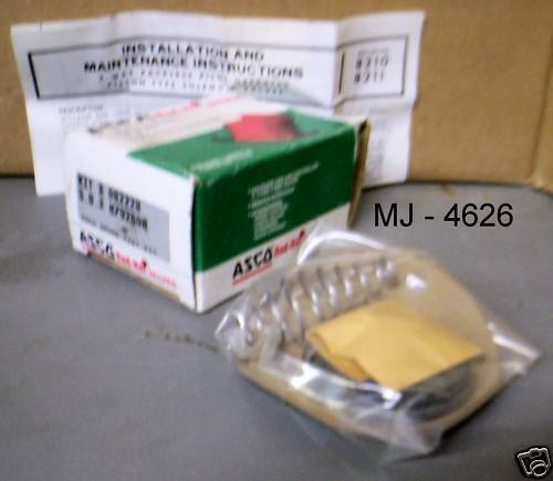 Automatic Switch Co. - Solenoid Parts Kit with Instructions - Kit # 082228 (NOS)