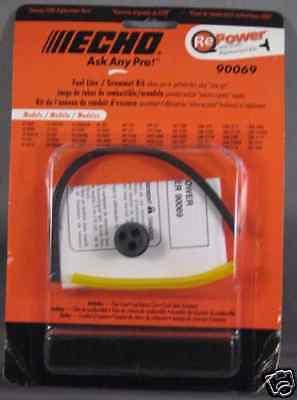 Echo Fuel Line / Grommet Kit Trimmers Gt-2000 Gt-200 Srm-210 Srm-211 Part 90069