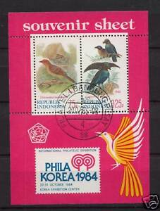 Indonesia-1984-SG-MS1769-Birds-Cto-Used-M-S