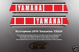 Yamaha  European Yz Tank
