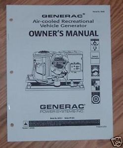 Generac Np 52g Manual