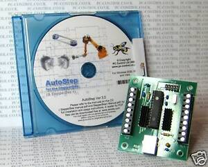 Stepperbee Stepper Motor Control From A Pc 39 S Usb Port Ebay