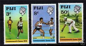 Fiji-1974-Commonwealth-Games-SG489-91-MNH