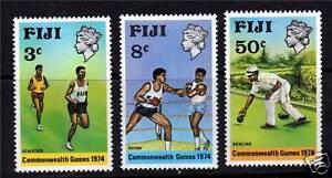 Fiji-1974-Commonwealth-Games-SG489-91-MNH