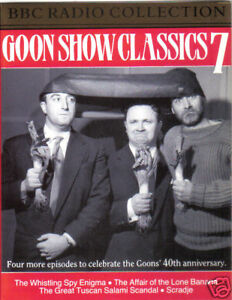 GOON-SHOW-CLASSICS-VOLUME-7-4-Episodes-BBC-Radio-Collection-Audio-Cassette