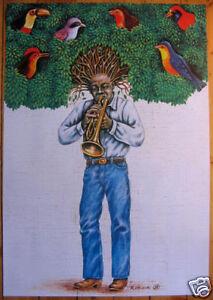 Jazzman, Trumpeter - Olbinski - Polish Poster - polska, Polska - Jazzman, Trumpeter - Olbinski - Polish Poster - polska, Polska