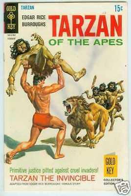 Tarzan # 182 (Gold Key USA, 1969)