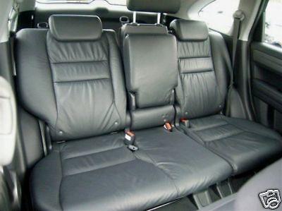 2007 2010 honda crv leather interior seat covers black