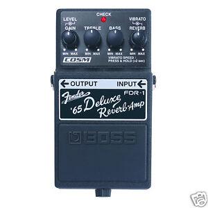 Boss-FDR-1-Fender-65-Deluxe-Reverb-Amp-Pedal-fdr1-B-Stock-Bargain
