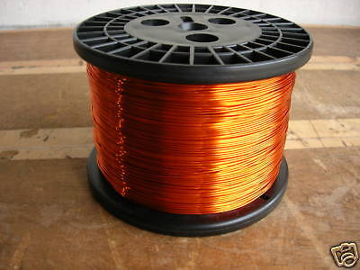 AWG 17 Copper Magnet Wire H200C High Temp (10 lbs)