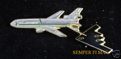 KC-10 EXTENDER TANKER AERIAL REFUELING B-2 STEALTH HAT PIN US AIR FORCE GIFT WOW - Kc 10 Tanker