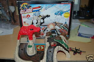 G.I Joe Micro Machines Cobra Mountain Headquarters