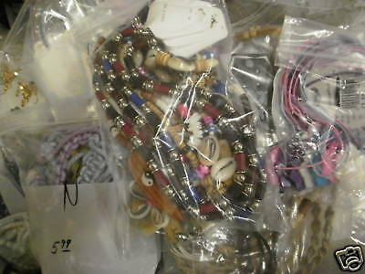 Lot of 120 Closeout / Wholesale Jewelry NEW Asst Styles Necklaces Bracelets More