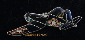 F4U-CORSAIR-US-NAVY-MARINES-USS-WW-2-HAT-PIN-NAS-MCAS-WING-MAW-Boyington