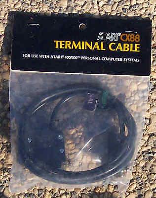 Cx-88 Terminal Cable 8-bit Atari 800/xl/xe/810/1050