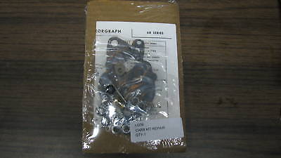 Wisconsin Engine Carburetor Kit, Fits Most L63 Style Read Ad