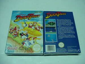 DUCK TALES BY CAPCOM - DISNEY FOR NINTENDO NES PAL B NEW FACTORY SEALED